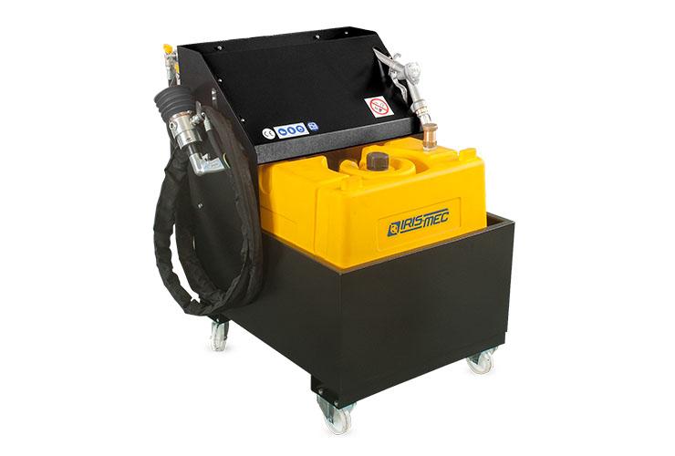 CCG carrello aspiratore e distributore Gasolio